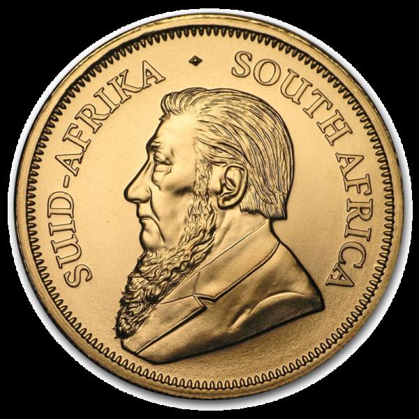 1/2 oz Krugerrand Gold Coin (2019)(Back)