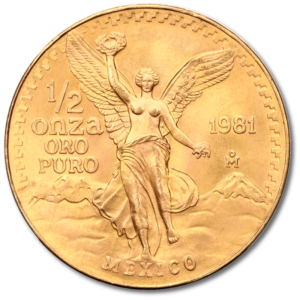 1/2 oz Mexican Libertad | Gold | mixed years(Front)