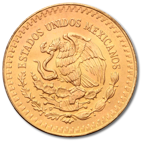1/2 oz Mexican Libertad | Gold | mixed years(Back)