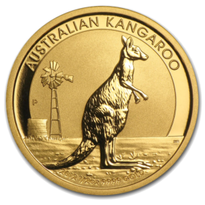 Nugget | Kangaroo, 1/2oz Gold, mixed years(Front)