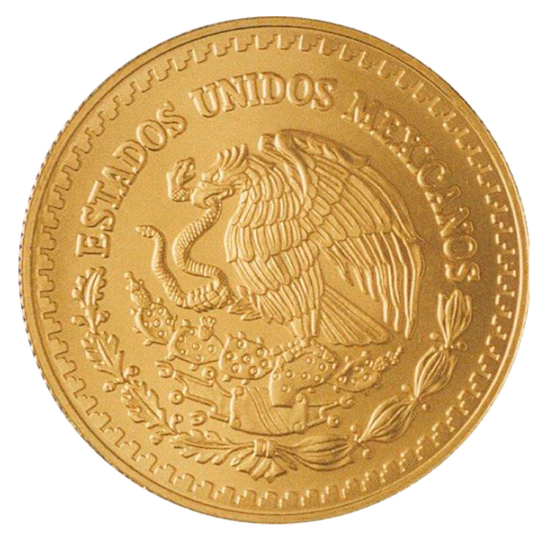 1/20 oz Mexican Libertad Gold Coin (2018)(Back)