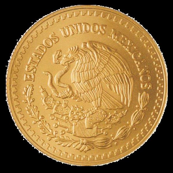 1/20 oz Mexican Libertad Gold Coin (2018)(Back)