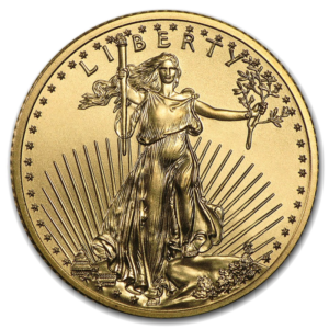 American Eagle, 10 Dollar, 1/4 oz Gold, mixed years(Front)