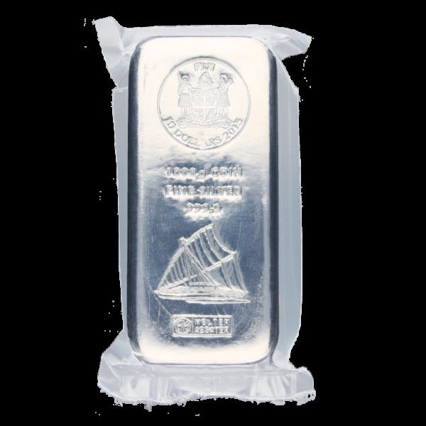 1 Kilo Fiji Coin Bar | Silver | Argor-Heraeus(Back)