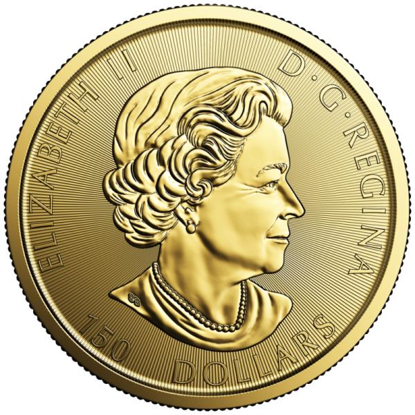 1 oz Canada 150 Voyageur | Gold | 2017(Back)