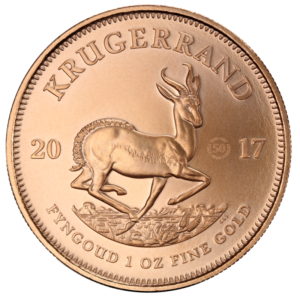 1 oz 50 Years of Krugerrand | Gold | 2017(Front)