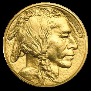 1 oz American Buffalo Gold Coin (2019)(Front)