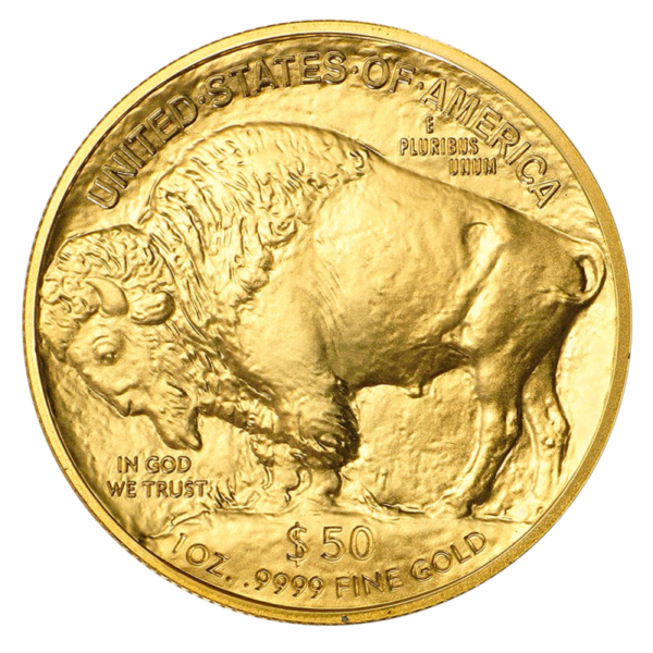 1 oz American Buffalo Gold Coin (2019)(Back)
