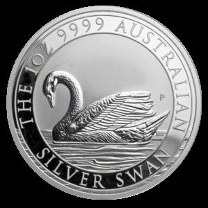 1 oz Australian Swan Silver Coin 2017(Front)