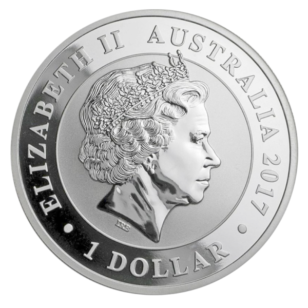 1 oz Australian Swan Silver Coin 2017(Back)