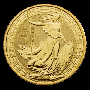 1 oz Britannia Oriental Border Gold Coin (2019)(Front)