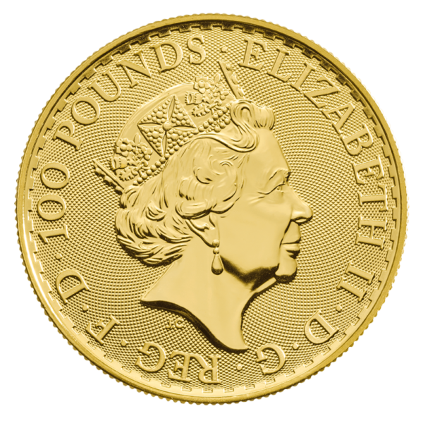 1 oz Britannia Oriental Border Gold Coin (2019)(Back)