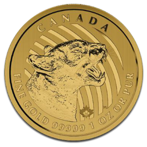 Call of the Wild, Growling Cougar, 200 Dollar, 1oz Gold, 2015(Front)