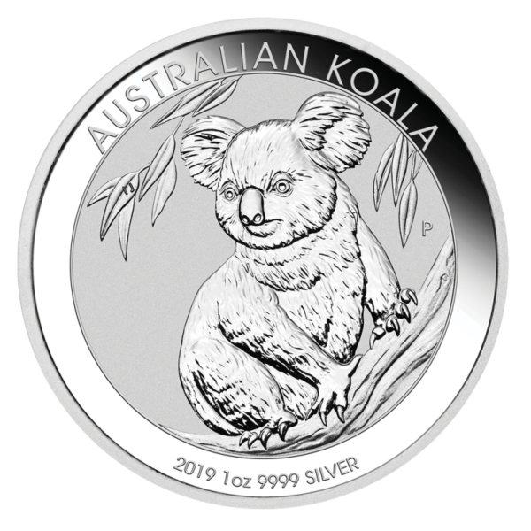 1 oz Koala Silver Coin (2019)(Front)