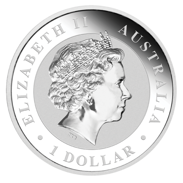 1 oz Koala Silver Coin (2019)(Back)