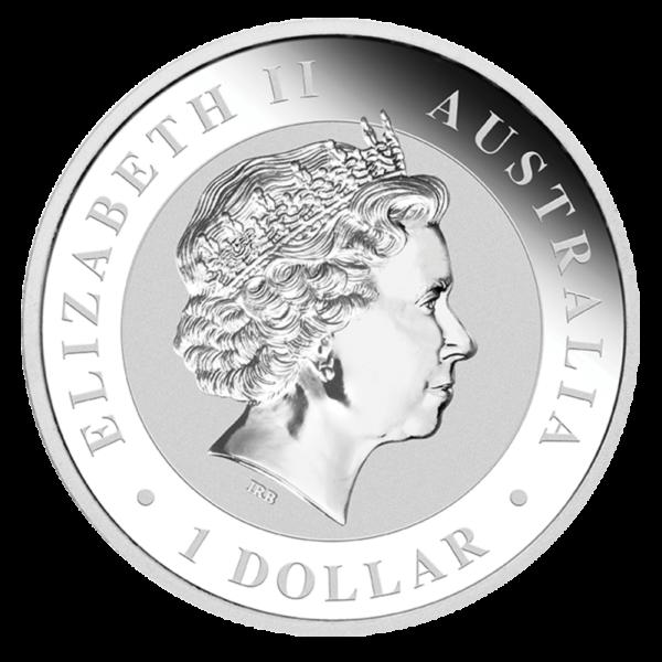 1 oz Koala Silver Coin (2019)(Back)