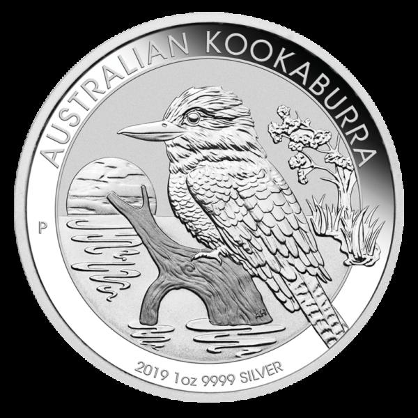 1 oz Kookaburra Silver Coin (2019)(Front)