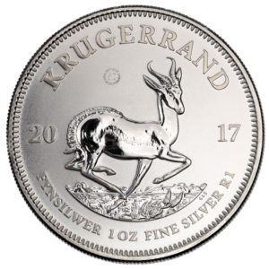 1 oz Krugerrand | Silver | 2017 | First Strike(Front)