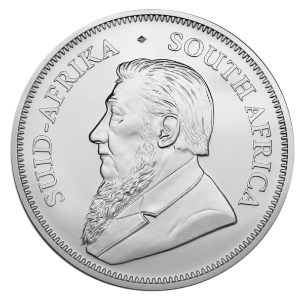 1 oz Krugerrand Silver Coin (2019)(Back)