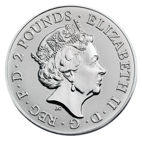 1 oz Landmarks of Britain - Trafalgar Square Silver Coin (2018)(Back)