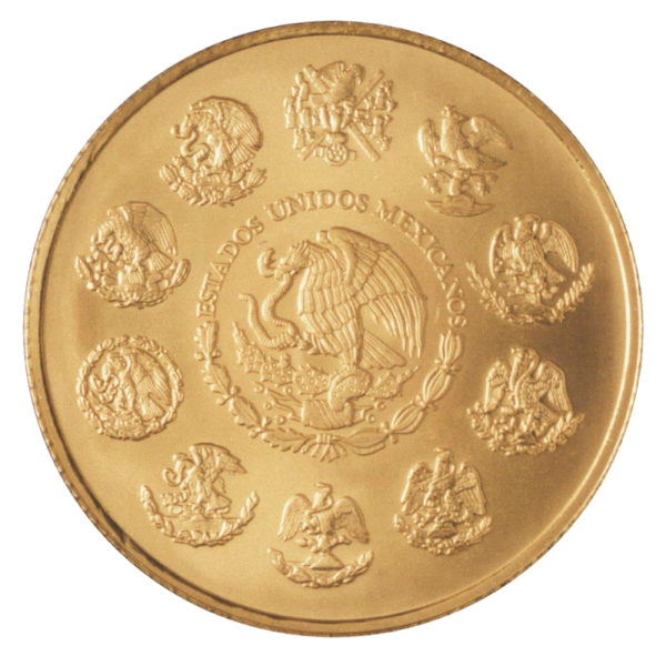 1 oz Mexican Libertad Gold Coin (2018)(Back)