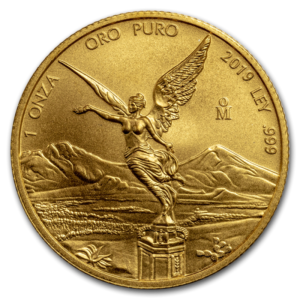 1 oz Mexican Libertad Gold Coin (2019)(Front)