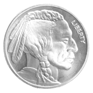 1 oz American Buffalo | Silver | Round(Front)