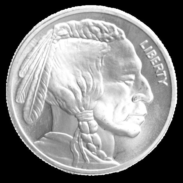1 oz American Buffalo | Silver | Round(Front)