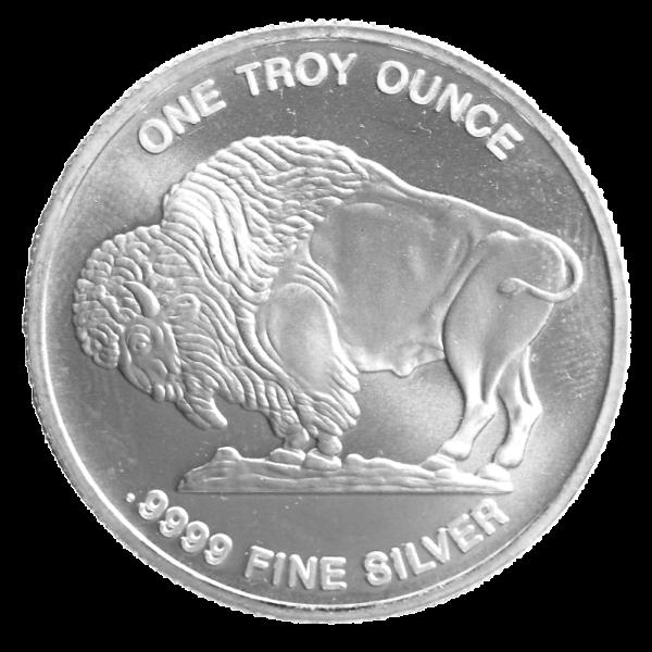 1 oz American Buffalo | Silver | Round(Back)