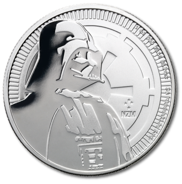 1 oz STAR WARS Darth Vader | Silver | 2017(Front)