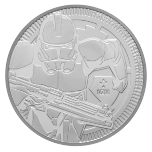 1 oz STAR WARS The Clone Trooper | Silver | 2019(Front)