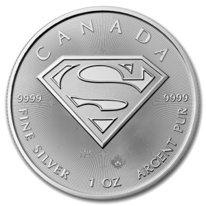 1 oz Superman | Silver | 2016(Front)