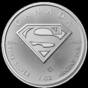 1 oz Superman | Silver | 2016(Front)