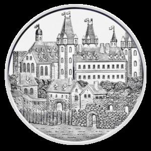 1 oz Wiener Neustadt 825th Anniversary Silver Coin (2019)(Front)