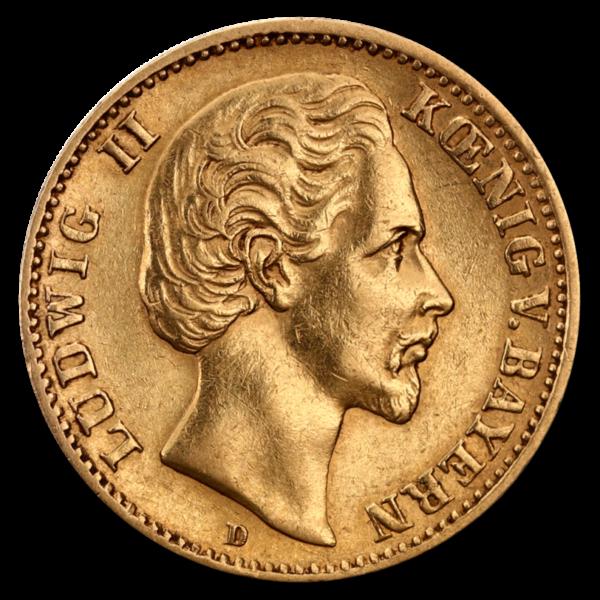 10 Mark Bavaria(Front)