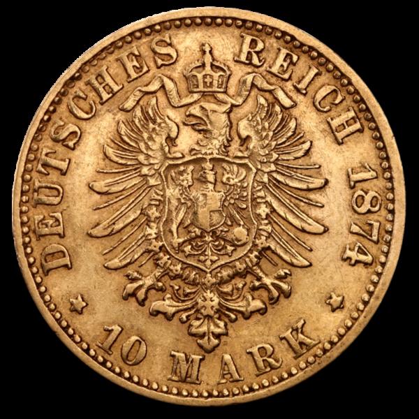 10 Mark Bavaria(Back)