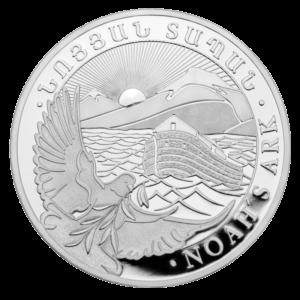 10 oz Noah's Ark Silver Coin (2019)(Front)