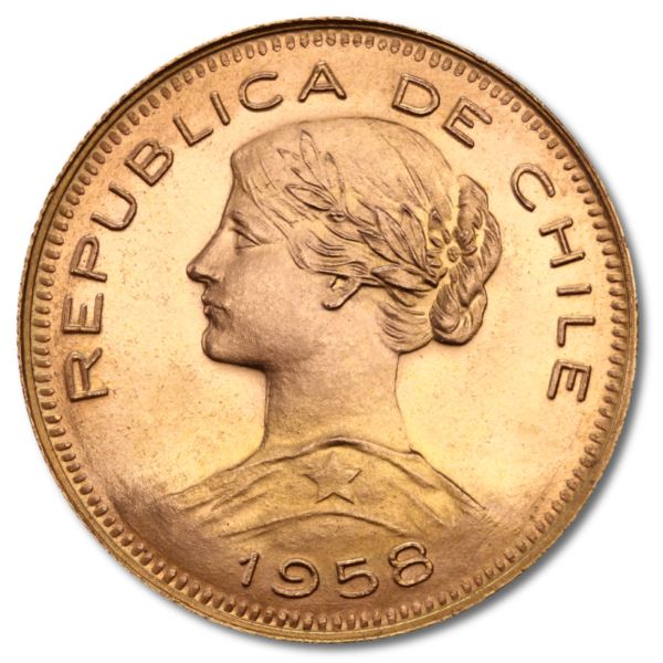 100 Peso Liberty, Gold(Back)