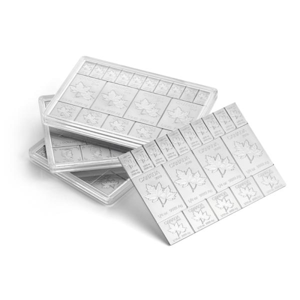 2 oz MapleFlex Silver Multibar(Front)