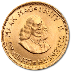 2 Rand, Gold(Front)