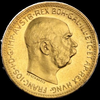 20 Kronen, Austria, 6.10g Gold(Front)