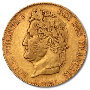 20 Franc Louis Philippe I | Gold | 1830-1848(Front)