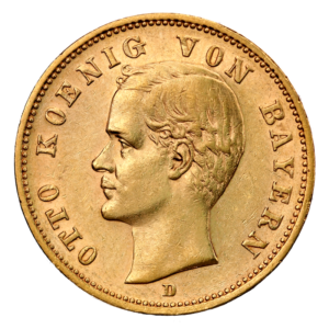 20 Mark King Otto Bavaria | Gold | 1886-1916(Front)