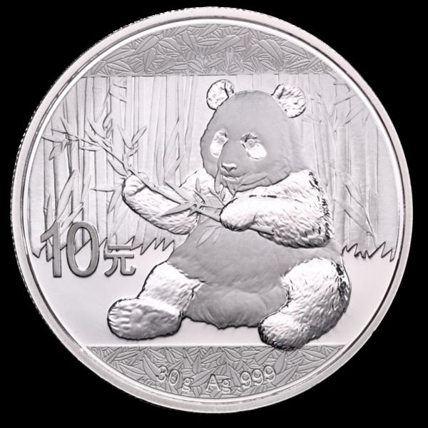 30g China Panda | Silver | 2017(Front)