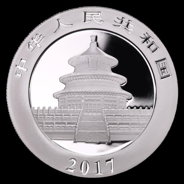 30g China Panda | Silver | 2017(Back)