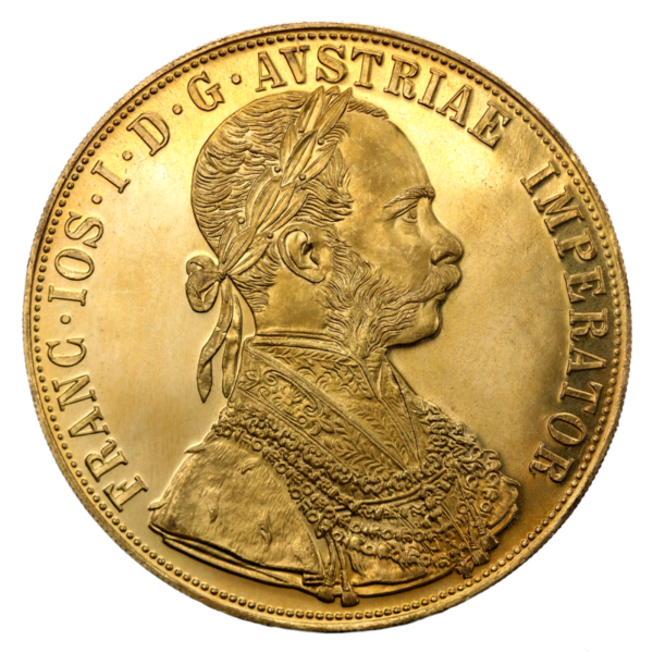 4 Ducats, Gold, New Edition(Front)