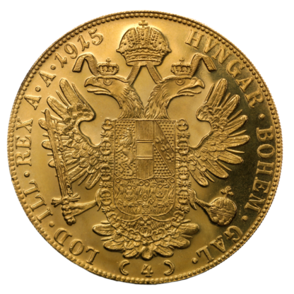 4 Ducats, Gold, New Edition(Back)