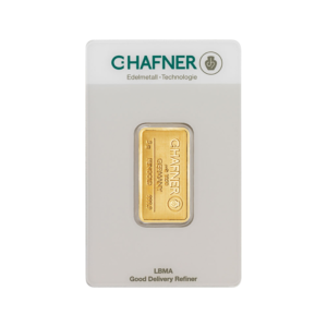 5g Gold Bar | C.Hafner(Front)