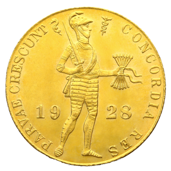 Dutch Ducat | Gold | 1890-2015(Front)