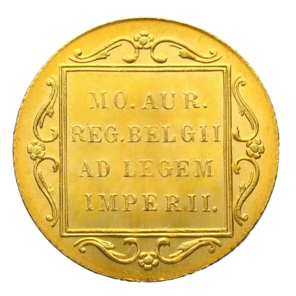 Dutch Ducat | Gold | 1890-2015(Back)